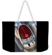 55 Bel Air Tail Light-8184 Weekender Tote Bag
