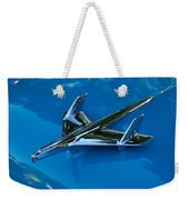 55 Chevrolet Hood Ornament Weekender Tote Bag