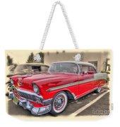 56 Classic Chevy Weekender Tote Bag