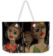 562 - Three Young Girls   Weekender Tote Bag