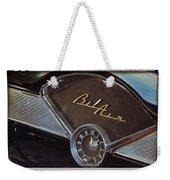 57 Chevy Bel Air Dash Weekender Tote Bag