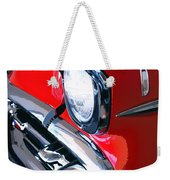 57 Chevy Front End Palm Springs Weekender Tote Bag
