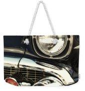 57 Chevy Headlight Weekender Tote Bag