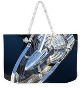 57 Chevy Hood Ornament Weekender Tote Bag
