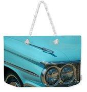 59 Pontiac Catalina Hood Ornament Weekender Tote Bag