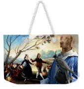 Weimaraner Art Canvas Print  Weekender Tote Bag
