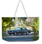 1965 Shelby Prototype Ford Mustang Weekender Tote Bag