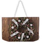 Advent Christmas Wreath Decoration Weekender Tote Bag