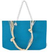 Aphrodite Anadyomene Necklace Weekender Tote Bag by Augusta Stylianou