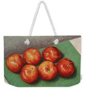 6 Apples Washed And Waiting Weekender Tote Bag