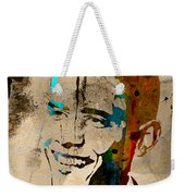 Barack Obama Weekender Tote Bag by Marvin Blaine