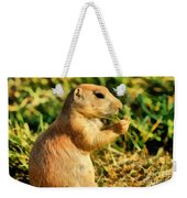 Black-tailed Prairie Dog Weekender Tote Bag