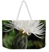 Centaurea Named The Bride Weekender Tote Bag