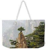 Chinese White Pine On Mt. Huangshan Weekender Tote Bag