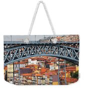 City Of Porto In Portugal Weekender Tote Bag