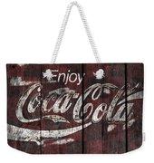 Coca Cola Sign Weekender Tote Bag