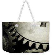 Cogs Weekender Tote Bag by Les Cunliffe
