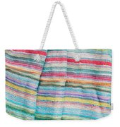 Colorful Cloth Weekender Tote Bag by Tom Gowanlock
