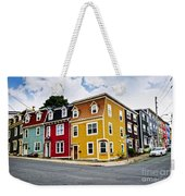 Colorful Houses In St. John's Newfoundland Weekender Tote Bag