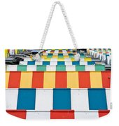 Colorful Roofs Weekender Tote Bag