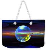 Computer Generated Sphere Abstract Fractal Flame Modern Art Weekender Tote Bag