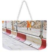 Construction Site Weekender Tote Bag