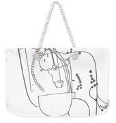 Dinka Embrace Weekender Tote Bag
