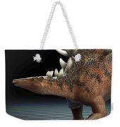 Dinosaur Kentrosaurus Weekender Tote Bag