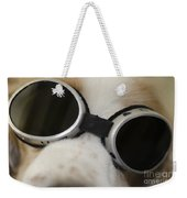 Dog With Sunglasses Weekender Tote Bag