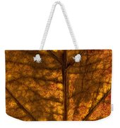 Dogwood Leaf Backlit Weekender Tote Bag