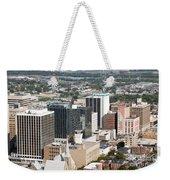 Downtown Skyline Of Wilmington Weekender Tote Bag