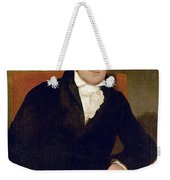 Eli Whitney (1765-1825) Weekender Tote Bag
