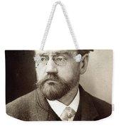 Emile Zola (1840-1902) Weekender Tote Bag