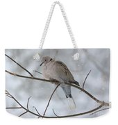 Eurasian Collard Dove Weekender Tote Bag