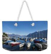 Harbor Weekender Tote Bag