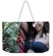 Hispanic Beauty Weekender Tote Bag
