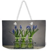 Hyacinth Still Life Weekender Tote Bag