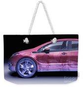 Hybrid Car Weekender Tote Bag