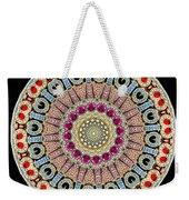 Kaleidoscope Colorful Jeweled Rhinestones Weekender Tote Bag