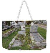 Key West Cemetery Weekender Tote Bag