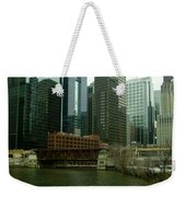 Lake Street Bridge Weekender Tote Bag