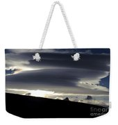 Lenticular Clouds Weekender Tote Bag