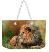 Lion Weekender Tote Bag