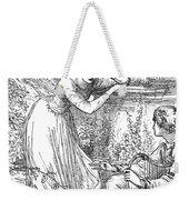 Love Lyrics And Valentine Verses, 1875 Weekender Tote Bag