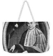 Luigi Galvani (1737-1798) Weekender Tote Bag