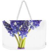 Muscari Or Grape Hyacinth Weekender Tote Bag