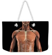 Muscles Of The Upper Body Weekender Tote Bag