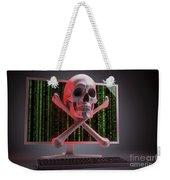 Online Security Weekender Tote Bag