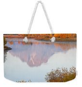 Oxbow Bend Grand Teton National Park Weekender Tote Bag