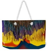 Paint Brushes Camouflaged Weekender Tote Bag